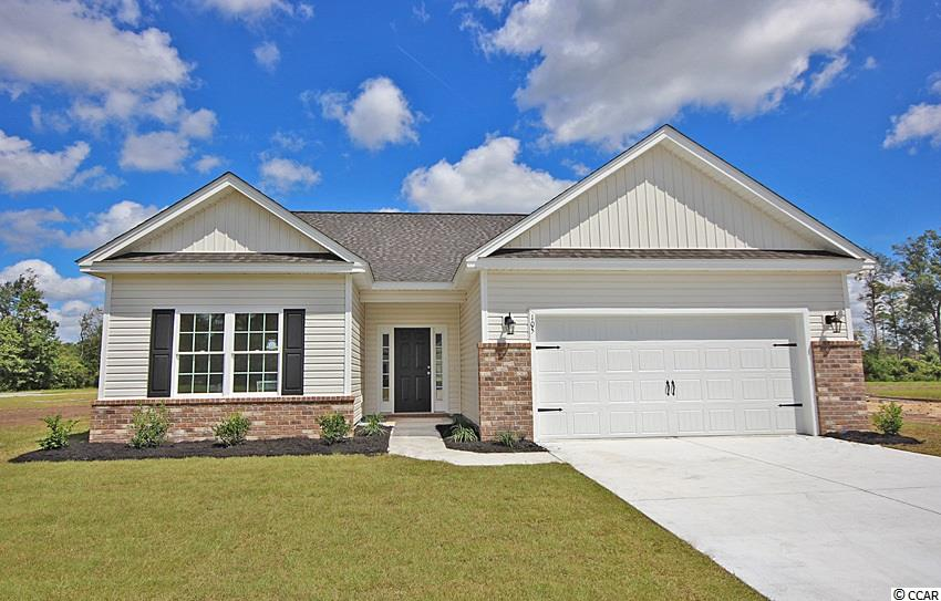 """This NEW Park Hill model has it all! 3 Bedroom 2 Bathroom with additional """"Flex Room"""" and a 2 Car Garage. at 1671+/- This Open concept home with a modern design Sits on a spacious lot. The floor plan features lots of windows and 9ft. ceilings With vaults allowing natural light to flow in. The living and dining rooms are adjacent to the kitchen which makes entertaining easy and effortless. This Kitchen includes granite countertops, Benton white painted cabinets, and stainless appliances. Come see all the insightful features designed with you and your lifestyle in mind . Pictures are of a similar home and are for illustration purposes only. This is a To Be Built Home. Upgrades and Lot Premium Not Included in the Listing Price."""