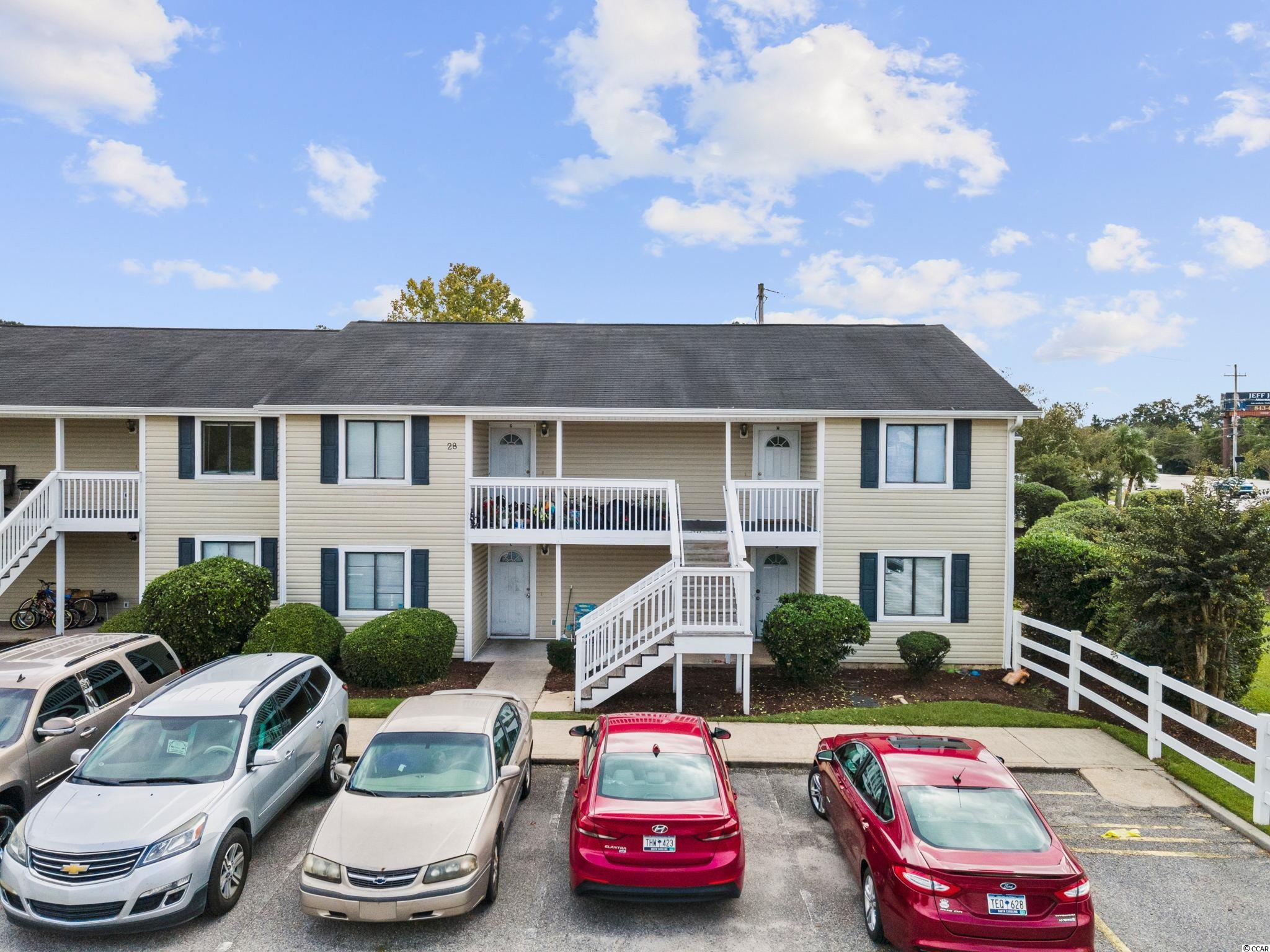 Move-in Ready! Excellent investment opportunity to purchase this 2 bedroom 2 bath condo, close to Carolina Coastal University. Up-dated bathrooms. Sold as is & furnished. TV's do NOT convey. Complex offers a swimming pool and laundry mat and is priced to sell!
