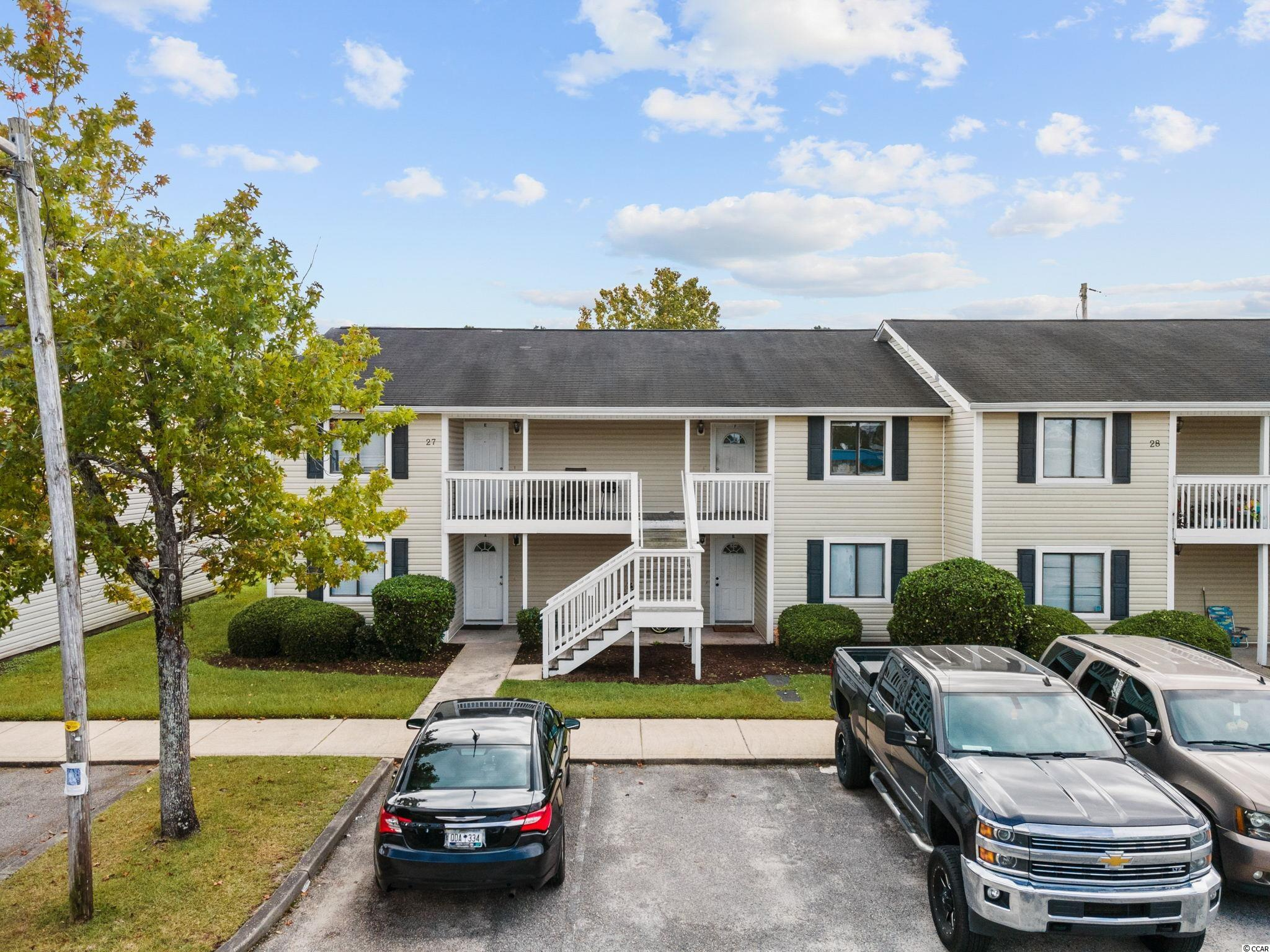 Excellent investment opportunity to purchase this 2 bedroom 2 bath condo, close to Carolina Coastal University. Sold as is. Complex offers a swimming pool and laundry mat and is priced to sell!