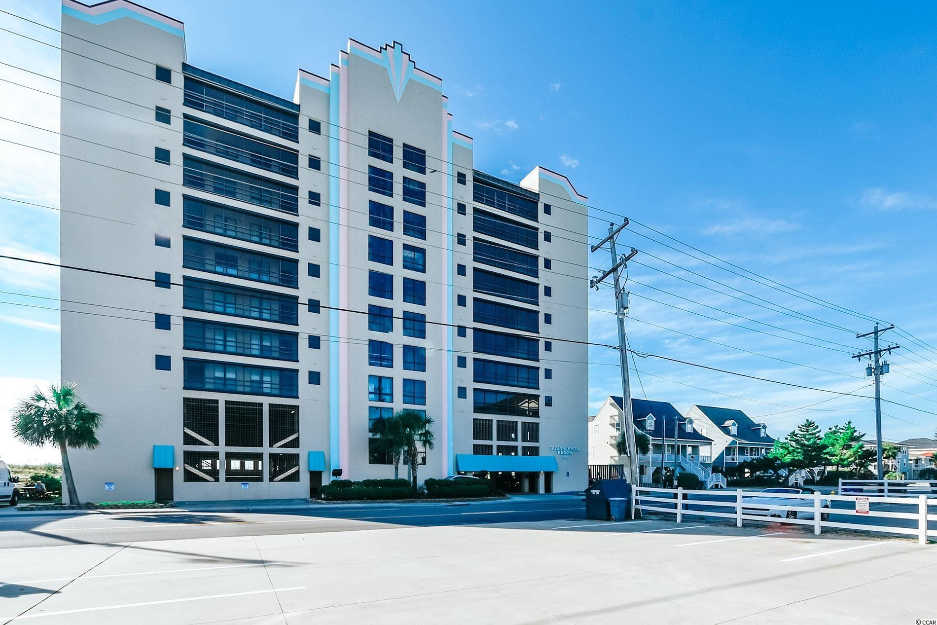 Beautiful Buena Vista 2/2 condo with Excellent oceanfront location in Cherry Grove. Condo features tile floors throughout, updated bathrooms with walk in tiled showers, and an updated kitchen with granite and tile backsplash HVAC was replaced in 2019, new mattresses 2020 on both beds and pullout sofa, and new chairs in living area. Storage locker for your Beach Chairs and Pool Toys located on the 4th floor.  Sold completely furnished for you and your family to enjoy, or use for rental income. Great Rental Property!