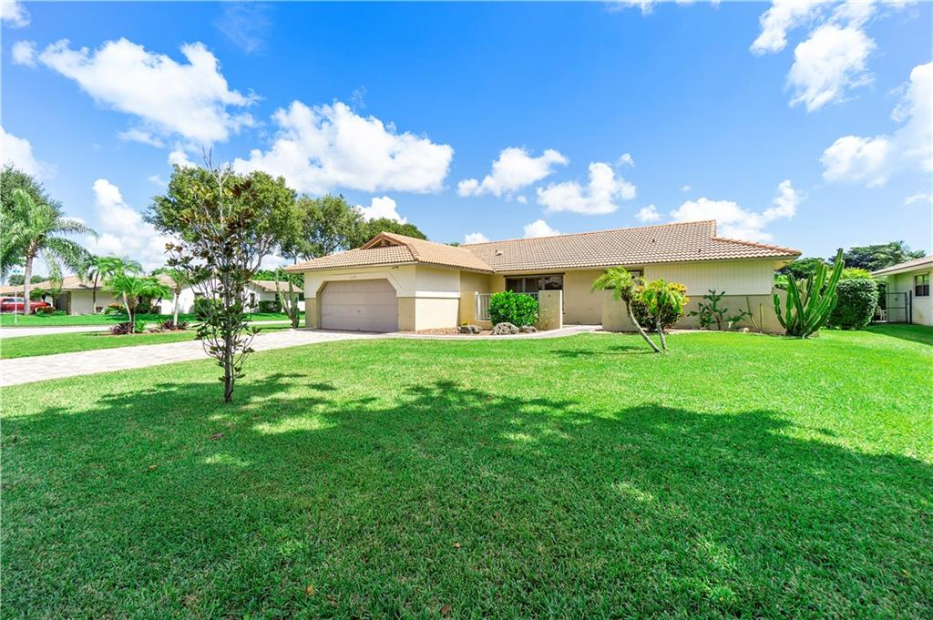 The perfect home has finally arrived! This 4 bedroom, 2 bath, with a POOL, on a corner lot, and NO HOA house is the best place to call home. Just a few additional features are hurricane impact windows and doors, a/c 2019, roof replaced 2005, and patio roof resealed in 2020. This is just naming a few and the list truly goes on. Location is minutes from Sawgrass Expressway, great schools shoppes and restaurants. The most important thing to note is the Seller TRULY took care of every inch of this property and as soon you walk in you'll not only see it but feel it.