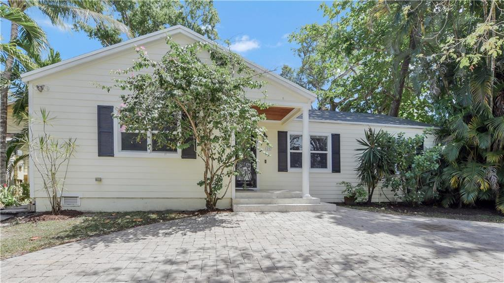 One mile from bustling Las Olas Blvd, but tucked along the sleepy, mangrove-lined Tarpon River. Must-see home for those who treasure the beauty of Old Florida. This charming three bedroom, three bath home features generous, wood-beamed master suite with luxurious master bath and dual walk-in closets. South-facing, oversized deck overlooking 60 feet of waterfront along Tarpon River. Updated kitchen with granite, stainless appliances and counter seating. Split bedroom plan with updated guest baths and updated plumbing. Partial impact windows. Sunlit utility/laundry room with additional storage. Paved circular drive. New roof (2021). Extensive renovation/addition in 2011.
