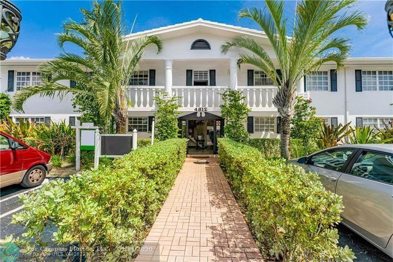 Excellent Location East Of US1 . Complex on Golf Course. Comes with 3 Parking spaces. Heated Pool facing golf course. approx 1 mile to Beach Concrete Restoration Complete in 2021.