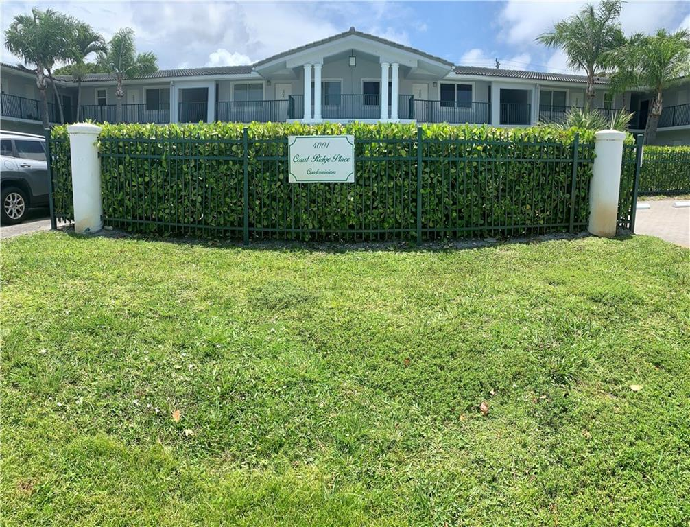 Amazing 2/1 Condo at Coral Ridge. New carpets and freshly painted! Custom cabinetry with stainless steel appliances. Swimming pool and assigned parking spot. Right across LA Fitness and very close to all the restaurants in Commercial and Oakland. Less than 2 miles from the beach! It also has a backyard where you can grill and put a sitting area!