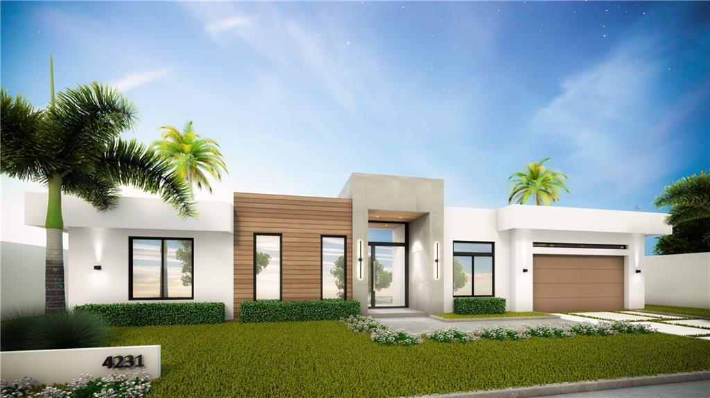 DELIVERY FALL 2021 | Exceptional contemporary new construction located within walking distance to Coral Ridge Country Club, Bayview Park & the beach. Designed for modern living, built with meticulous attention to detail, this smart energy-efficient home exudes sophistication & comfort. A dramatic 15-foot glass entry welcomes you to open living spaces, including a great room with an automated lighting/entertainment system, a fireplace, optional wine cellar, a state-of-the-art Porcelanosa chef's kitchen. Floor-to-ceiling glass sliders open to the outdoor entertainment areas, featuring a summer kitchen, modern pool and cabana bath. The master bedroom is the perfect retreat with views, access to the pool & an impressive bathroom which features dual vanities, free standing tub & double shower.