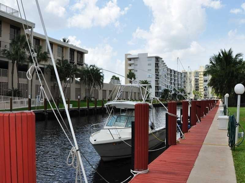 Walk to your boat dock and to the beach from this large southern exposure 2/2 condo with great views of the intracoastal, and canal. Impact windows, garage parking, and pets under 15 pounds are allowed. High speed fiber optic internet is included in the monthly condo fee. Located just over the Commercial Blvd. bridge to Lauderdale By The Sea.