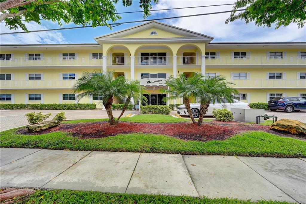 Rarely Available! Spacious 2/2 ground level, corner apartment. Many upgrades including impact windows, remodeled kitchen and flooring. Boat dockage. Condo complex has two swimming pools (1 heated). BBQ, exercise and billiard room. Washer and dryer hookups are in apartment. Great location just a short trip to the beach. Florida room overlooking the canal area. May be rented after 24 months of ownership for a minimum of 90 days.
