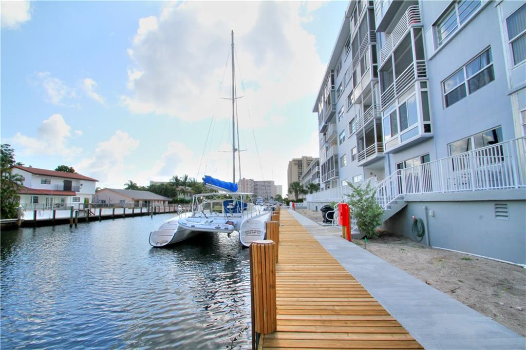 Desirable and spacious waterfront apt in Coral Ridge/Bayview area of NE Fort Lauderdale. 1/2 mile to the beach. Light and bright unit with 1 garage parking space (only) and washer/dryer in unit. ceramic tile floors throughout . Central A/C. Nice patio with view of canal and boats!! No permanent 2nd cars- no Pets as per association. Parking space #27 Restaurants, shopping , coral ridge mall all only a few minutes away!!! Good credit and references required.