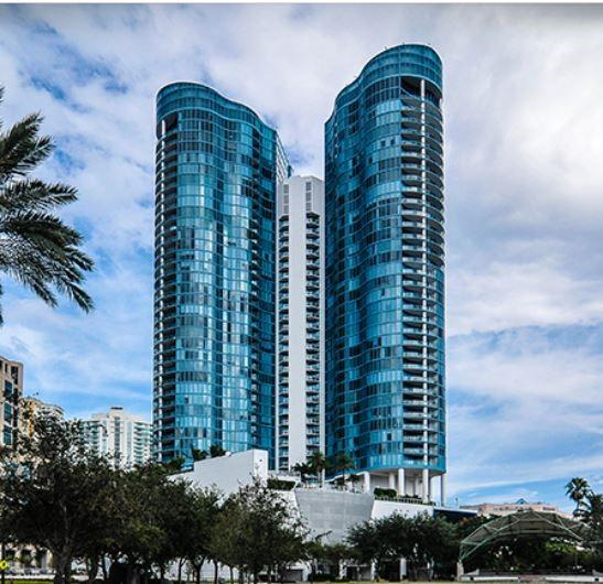 LOCATED IN THE HEART OF DOWNTOWN & LAS OLAS BLVD. THIS RARELY AVAILABLE 5TH AVE FLOOR PLANS INCLUDES 3 BED 3.5 BATH PLUS OFFICE / DEN ON THE 37TH FLOOR IN THE LANDMARK LAS OLAS RIVER HOUSE AMAZING VIEWS OF THE OCEAN, CITY SKYLINE & NEW RIVER WITH EAST WEST VIEWS. PRIVATE ELEVATOR FOYER WITH OVER 3200 SQ FT WITH FLOOR TO CEILING GLASS, MARBLE FLOORS, STAINLESS STEEL APPLAINCES 2 SUB ZERO, ENORMOUS MASTER SUITE WITH OVER-SIZED HIS ANS HERS CLOSETS & SPA LIKE MASTER BATH. VERY LARGE LIVING AREAS 2 BALCONIES FOR SUNRISE & SUNSET VIEWS! BUILDING FEATURES 5 STAR LIFESTYLE. 24 HR VALET, CONCIERGE, WORLD CLASS FITNESS CENTER, TROPICAL POOL DECK. ALL WITHIN A SHORT WALKING DISTANCE TO SHOPS AND RESTAURANTS ON LAS OLAS BLVD.