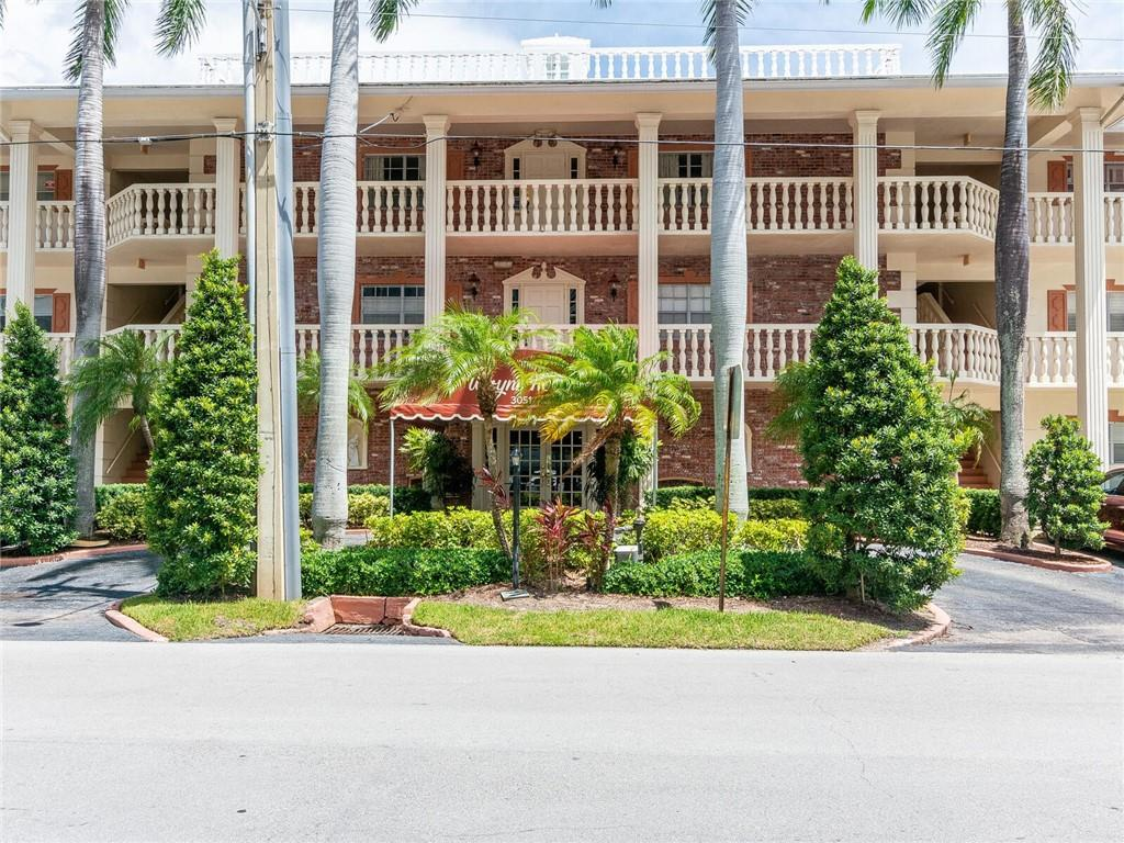 Talk about location! This beautifully updated waterfront condo is in need of a new owner. Located east of Bayview in Coral Ridge Country Club. Just a short walk to restaurants, shopping, and Lauderdale-by-the Sea. Dockage is available for up to a 45 ft boat at $4.50 a foot includes electric and water. Call now to see this beauty! Unit 208 next door is also available.