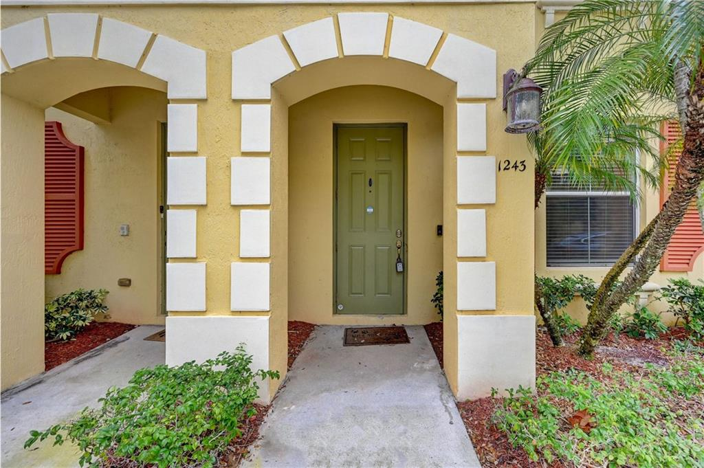 Welcome to this charming 3 level, 3 bedroom, 2 full bath and 2 half bath, 2 car garage townhome in the desirable neighborhood of Renaissance Commons in Boynton Beach. This move in ready home is in the perfect location and has tons of features, including gorgeous wood floors on the stairs and in the bedrooms, lovely kitchen with granite countertops and stainless steel appliances, large master bedroom, spacious beautiful guest rooms, a large den/office area, and a beautiful covered balcony. This home features newly installed A/C and washer/dryer. The community has a low HOA fee but still features a clubhouse, walking paths, pool, playground, and fitness center. Less than 5 min from Boynton Beach Town Center which features tons of shopping and restaurants, less than 10 min from the beach!