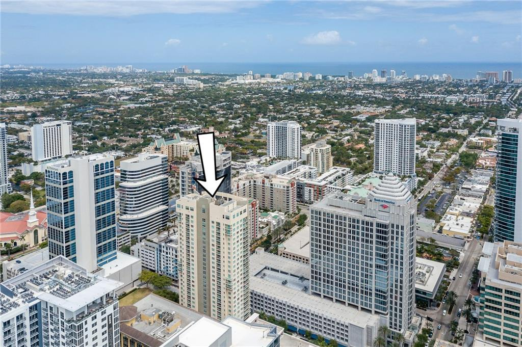 Beautiful 2/2 steps from Las Olas Blvd. Tastefully refinished unit on the 11th floor with east facing views and a small ocean view. 350 Las Olas is in an unbeatable location 1 block from the heart of Las Olas Blvd shopping, nightlife and restaurants. Literally walk to everything you need brand new Publix Greenwise, famous Broward Center for Performing Arts, Fort Lauderdale Art Museum, Las Olas Riverfront park and 2.2 Miles to the Ocean sand. This could also be offered as a turnkey furnished solution to the right buyer. 350 Las Olas has unbelievable amenities including a theater, rooftop pool overlooking all of Fort Lauderdale, Valet Parking, clean and upgraded gym, full time concierge, on-site management and business center. Pet Friendly building.