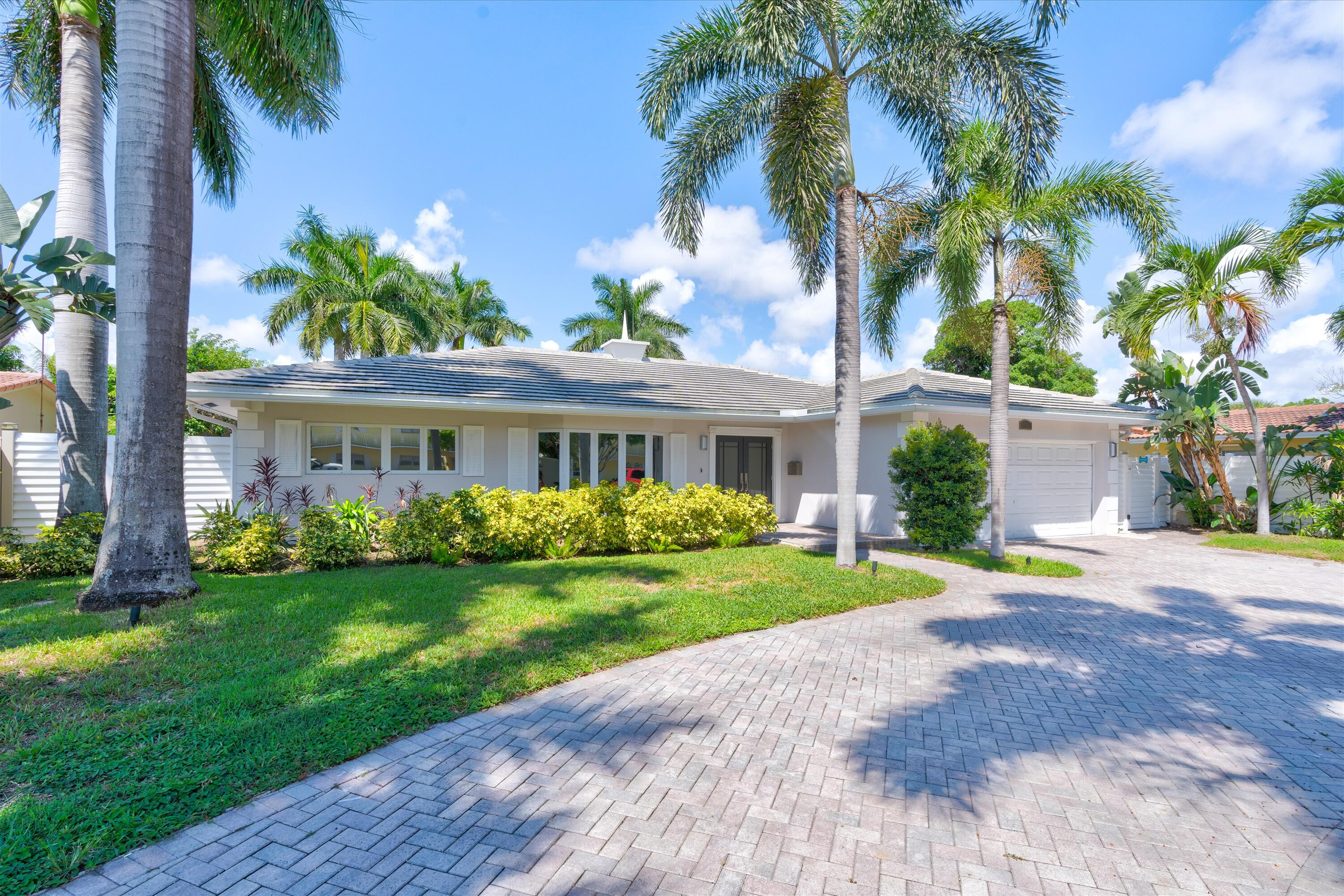 Fabulous Location!!!!! Close to Restaurants, Shopping, and walking distance to the beach and Lauderdale by the Sea. Beautiful heated salt water pool. Full house generator installed in 2018! Hurricane impact windows and doors for full credit and new roof in 2018. Brand new kitchen installed in 2018 with all new Wolf appliances and new Subzero refrigerator. Brand new electrical panel. The actual square footage on the tax roll is incorrect. The home is just over 2200 sq. ft under air. Showings begin Sunday September 19,2021 for the OPEN HOUSE from noon-4pm.