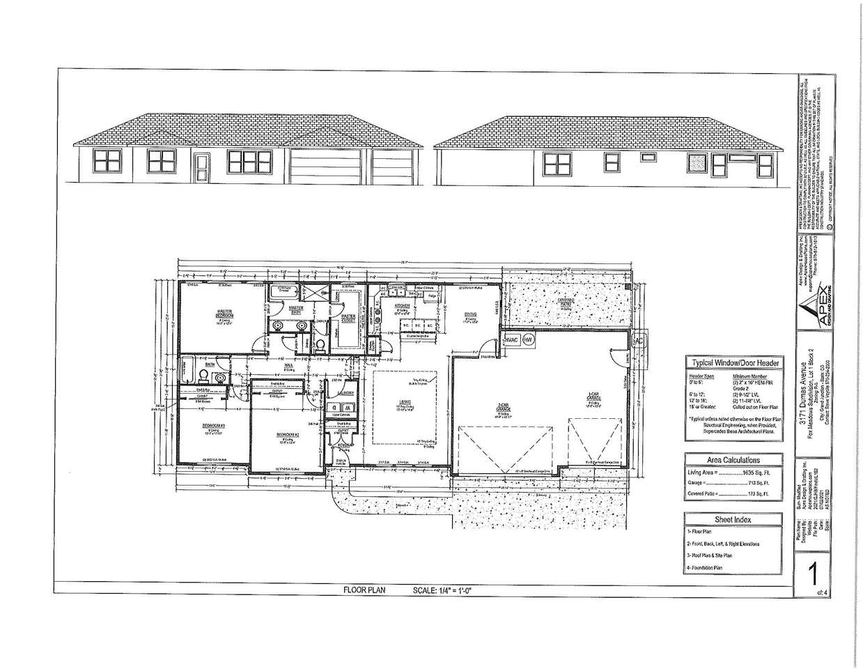 Construction is just beginning on this home which will feature stucco exterior with stone accents, 30 year architectural shingles,wood floors in living room and kitchen, tile floors in bathrooms and laundry, granite counter tops in kitchen and bathrooms,stainless steel appliances including refrigerator, walk-in closet in master bedroom, forced air heating and refrigerated air. Seller is a Colorado licensed Real Estate broker.