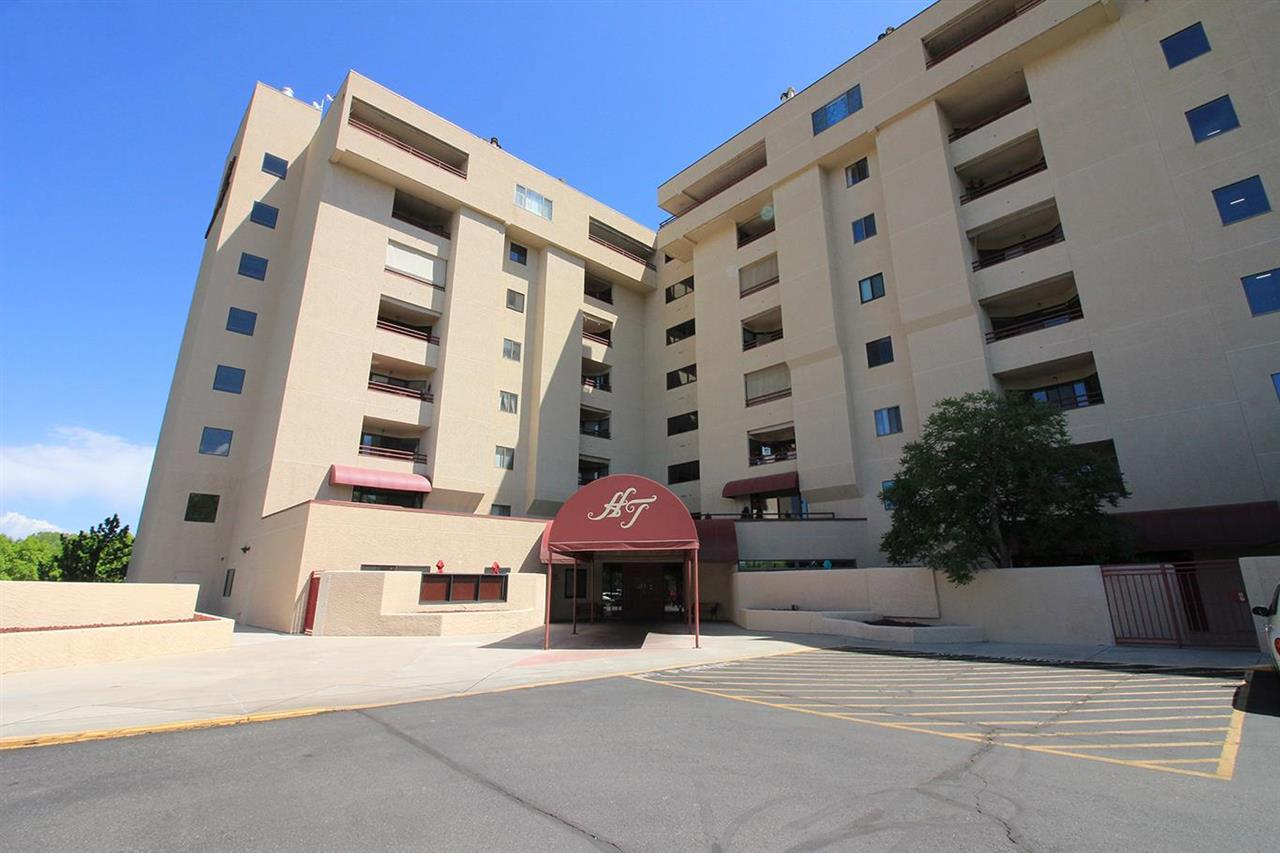 You don't want to miss out on the centrally located condo that is a true lock & leave that is ready for new owner! Fabulous location that is close to everything & move in ready. This 2 bed, 2 bath home is a split bed design on the 5th floor with great deck, in unit laundry & so much more. Enjoy all the amenities the building has to offer like a pool, hot tub, workout room, game room, fiber optic internet & more! Did I mention that the HOA covers everything but electric!! There are 2 dedicated parking spaces, shared storage & so much more! Come take a closer look at this great unit!