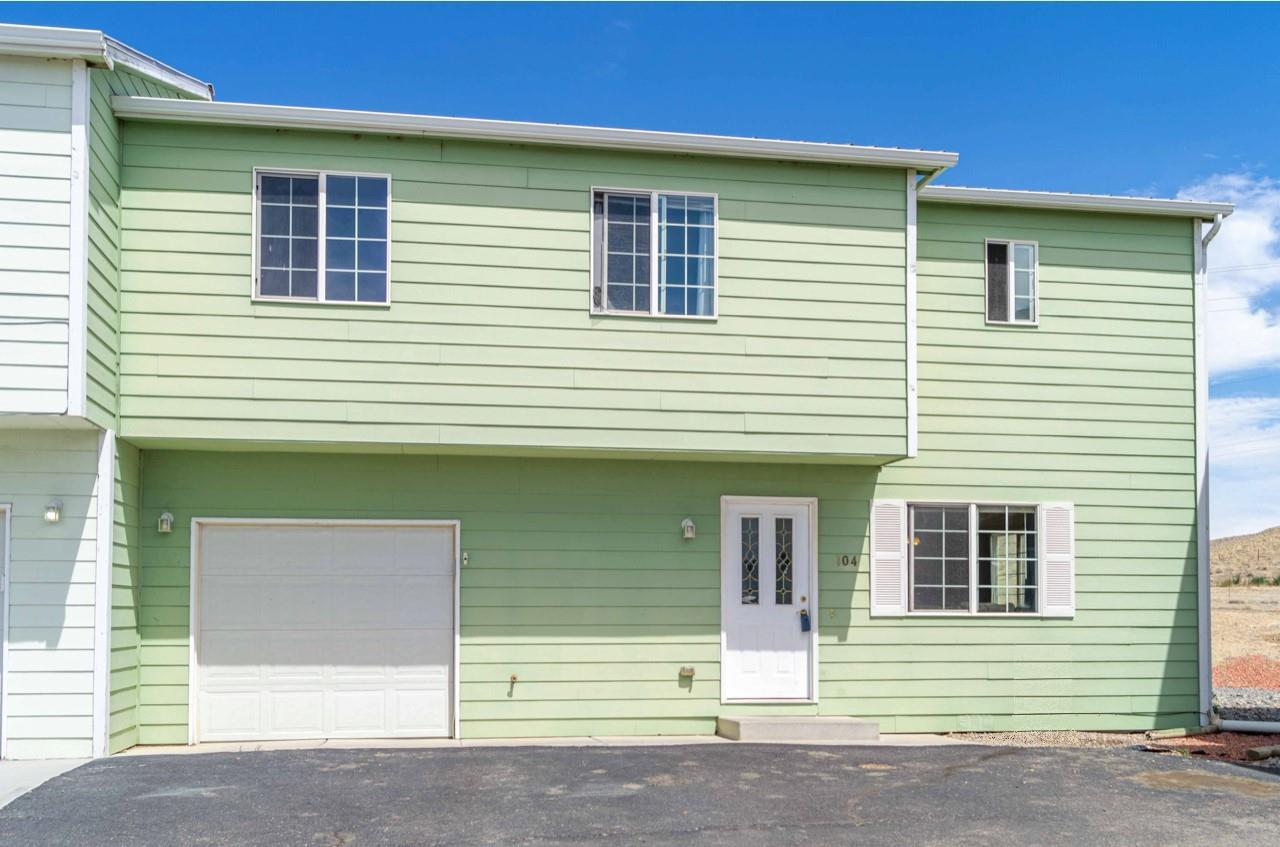 Spacious and well maintained - 3 bedroom/2.5 bathroom townhome! This functional and well laid out townhome has an open floor plan with a large living space, walk-in pantry, and dining area right off kitchen. All three bedrooms are located on the second floor along with two full bathrooms and a convenient laundry location near the bedrooms. Master bedroom has a large walk-in closet and ensuite bathroom with double sinks and tiled shower. One car attached garage plus additional assigned parking in front of the townhome! Newer evaporative cooler and hot water heater. All of this in a convenient and easy to access Orchard Mesa location! Welcome home!