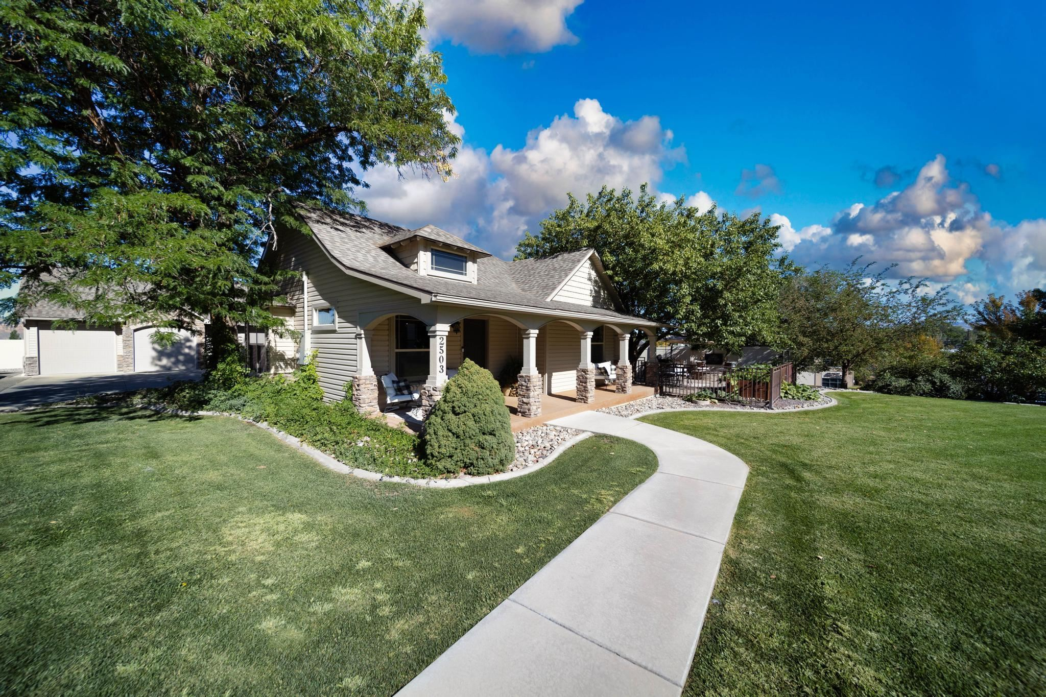 City living at it's finest! Nestled right off historic 1st Street, and minutes from downtown, shopping, and restaurants; this fabulous craftsman sits on just shy of a half acre. To say this home has it all is an understatement! Character from the 1900's is still in tact and found through out the home. From the original front door now used as the gateway to the pantry, to a repurposed leaded glass window in the powder bath, you're sure to find jewels like these at every turn. No more fighting over the bathroom as all three bedrooms have their own on-suites, plus a powder bath for your guests. Two living areas provide ample room to spread out, relax, play a game, or just read a book by the fire. If you're passion is for entertaining then the updated kitchen will surely steal your heart. With rich knotty alder cabinets, a brand new stone backsplash, new quartz counters, a huge island with a