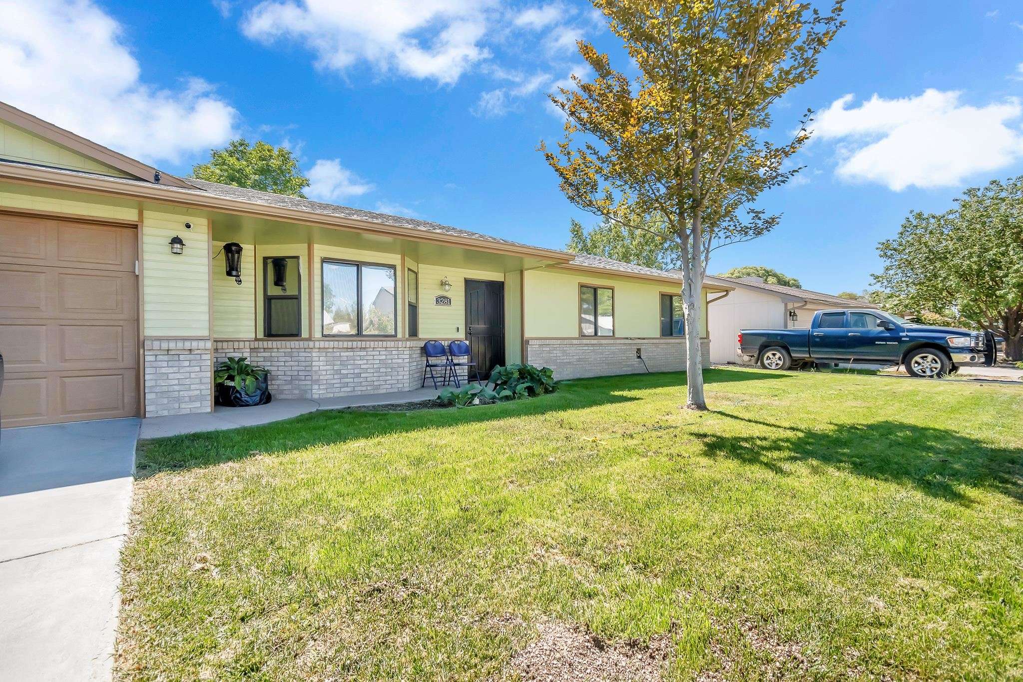 Amazing 3 Bed/2 Bath ranch styled home nestled in a cul-de-sac with tons of upgrades. Owned Solar Panels, Enormous Wooden Privacy Fence, New kitchen appliances, New Roof, New Paint etc. NO HOA and Irrigation water .  Schedule your showing today