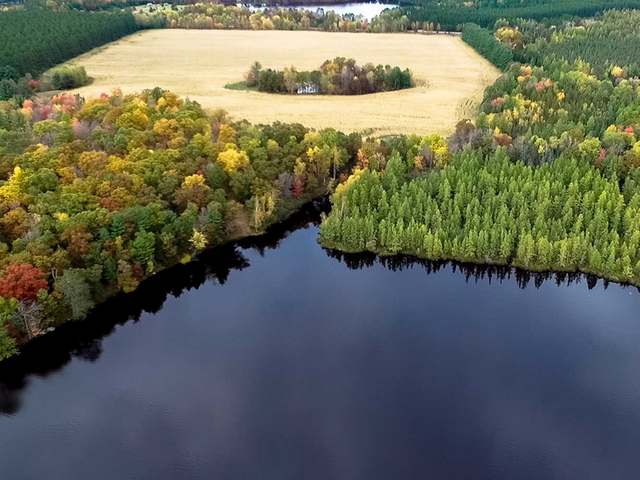 Large parcels on chains of lakes are all but gone. Here is one of last larger parcels you will see. The parcel has 81 acres, some of the land is cleared and some of it is wooded. The land has 2218' of frontage on Second Lake. Second Lake is on the Moen Chain of 5 Lakes. The parcel is 7 miles east of Rhinelander, WI in the heart of Wisconsin's Northwoods. The chain offers over 1100 acres of water and many miles of lake frontage. The fishing is excellent with walleye, musky, bass and panfish. The frontage is mostly sand and it faces south for all day sun! The parcel could be split up or it could be the site of your dream home!