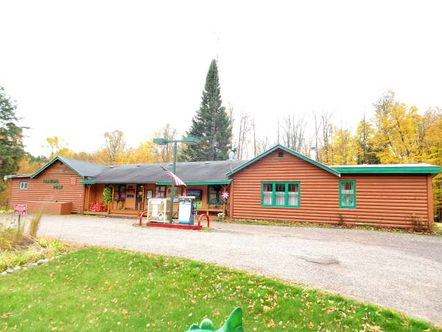 "BE YOUR OWN BOSS! You've said it a million times. ""We should move north where the air is clean and we can fish and hunt and run a Mom & Pop type business."" Springstead Trading Post - Indoor Archery Range & Pro Shop, Gas station, full 3BR attached living quarters & walking easement to Muskie Lake. Established 80+ years in business. Comes with many licenses along with both a Class A & Class B Liquor license. Commercial Northland Pole Building built in 2002 is fully heated and insulated with a 1200sq ft sales, display, shop and lounge area and 40x105 indoor 3-D range area. Trading Post Retail Store for groceries, bait, tackle, ice, cigarettes, beer liquor, pop, hand scooped ice cream, necessities, souvenirs and gifts. Also under utilized areas to expand your possibilities. Comes with the equipment. Current owners keep immaculate books and records. Just south of the Turtle Flambeau Flowage and 7 miles to the Springstead Lake landing on Hwy 182 East of Park Falls."