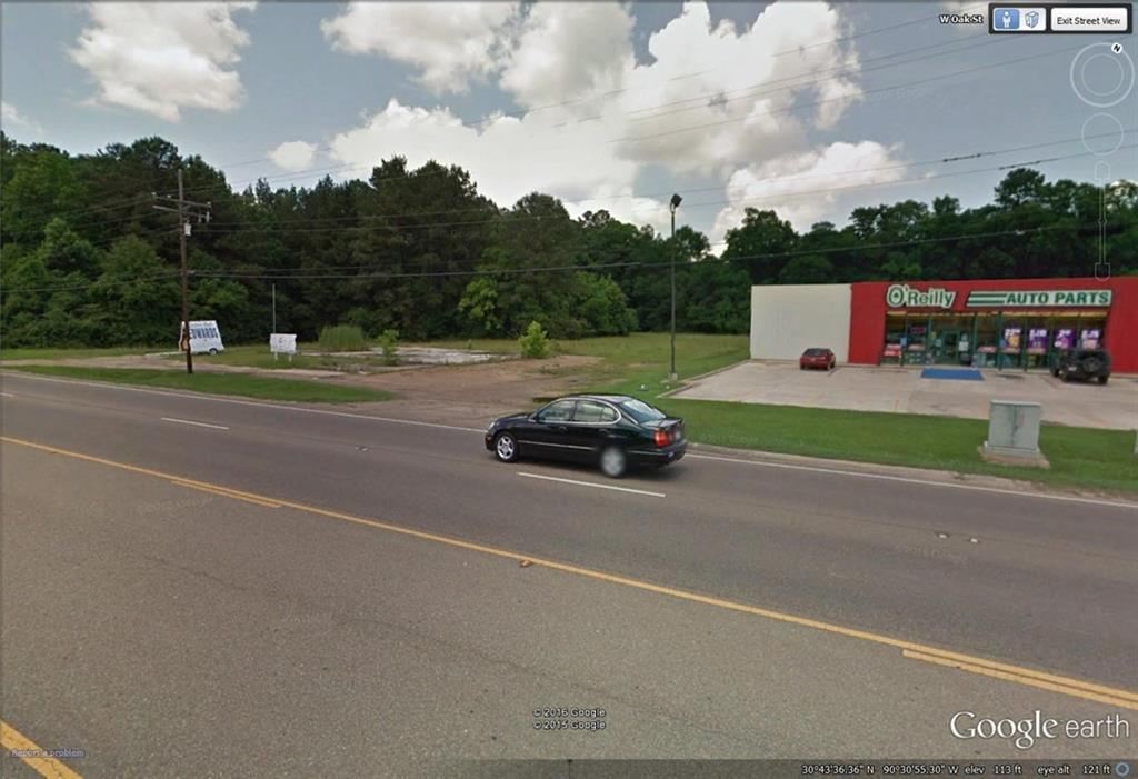 Land for Active at 404 W OAK (HWY 16) Street Amite, Louisiana 70422 United States