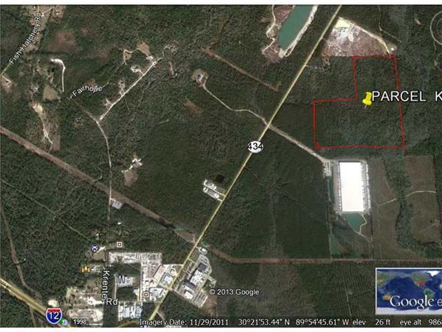 Terreno por un Venta en Parcel K HWY 434 (OFF) Lacombe, Louisiana 70445 Estados Unidos