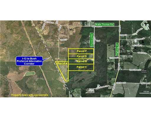 Terreno por un Venta en 78043 CHEMICAL Road Bush, Louisiana 70431 Estados Unidos
