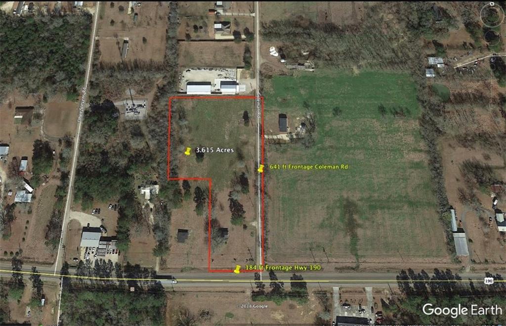 Terreno por un Venta en HWY 190 TRACT C-2-B Highway Robert, Louisiana 70454 Estados Unidos