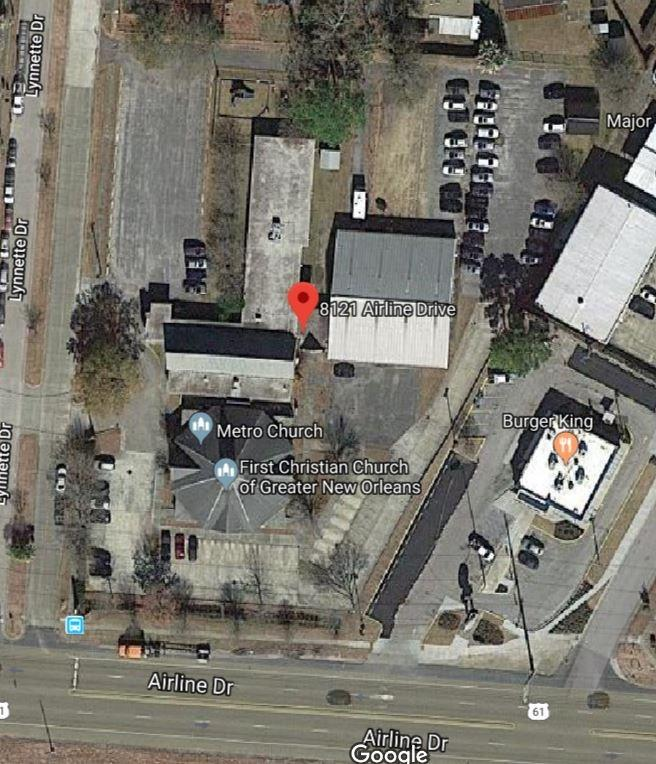 8121 AIRLINE Drive, Metairie, Louisiana 70003, ,Commercial Sale,For Sale,8121 AIRLINE Drive,2186907