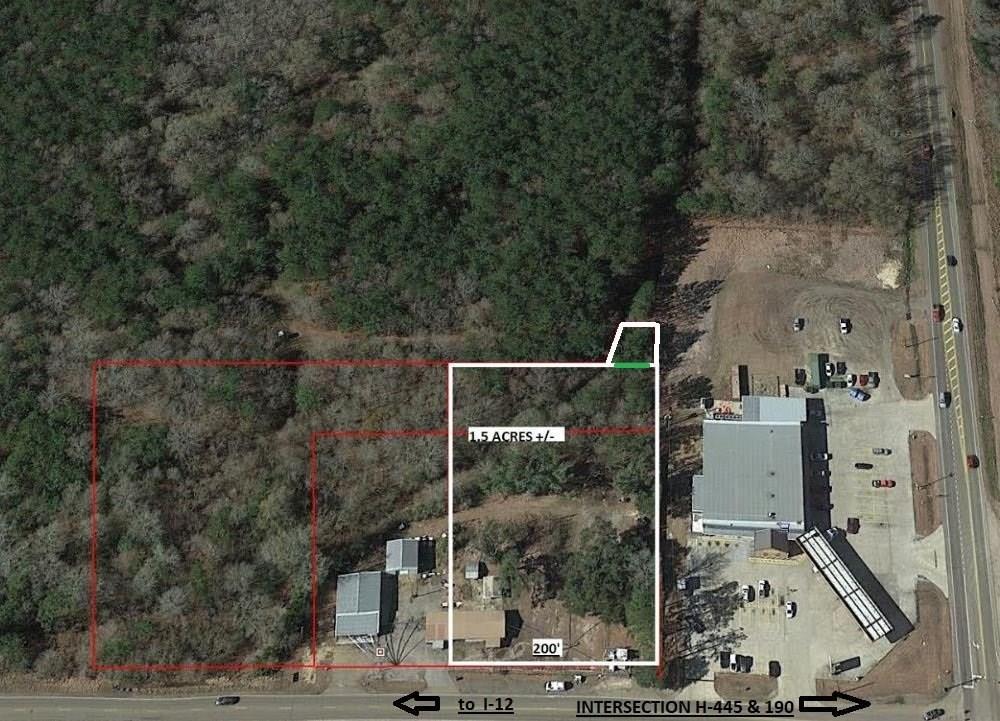 Terreno por un Venta en 44349 HIGHWAY 445 Highway Robert, Louisiana 70454 Estados Unidos