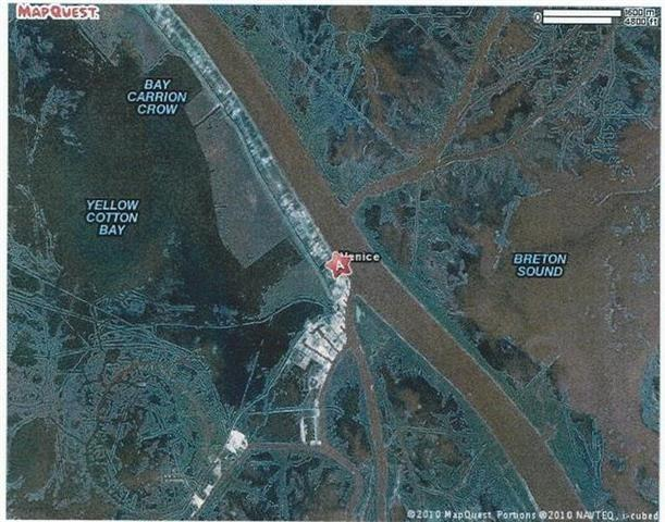 Land for Active at 41765 HWY 23 Highway Venice, Louisiana 70091 United States