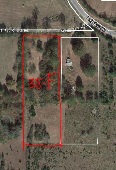 Land for Active at ST PAUL CHURCH Road Brooksville, Mississippi 39739 United States