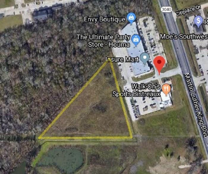 土地,用地 为 销售 在 137 DON FELIPE Boulevard Houma, 路易斯安那州 70360 美国