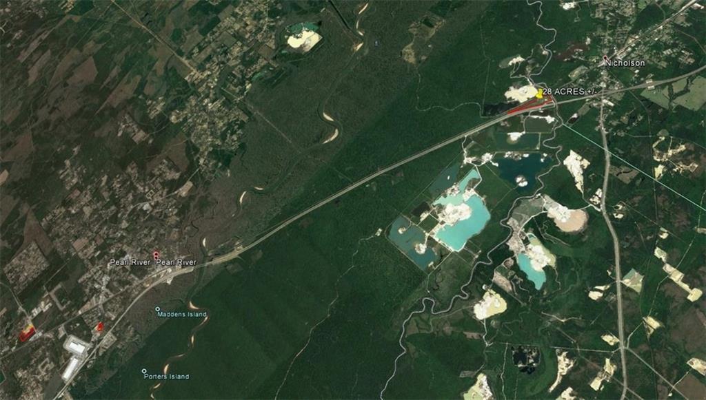 土地,用地 为 销售 在 INTERSTATE 59 Highway Pearl River, 路易斯安那州 70452 美国