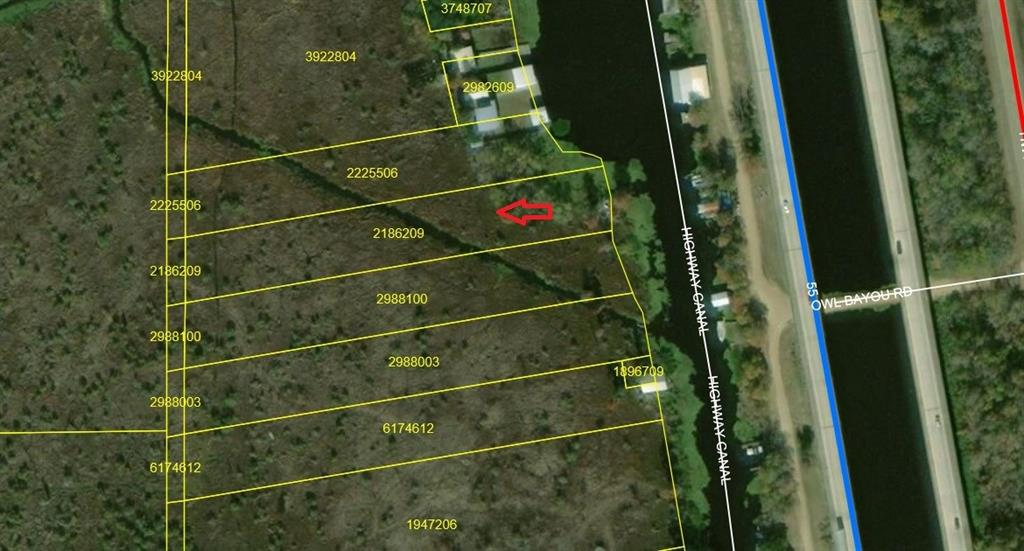 Land for Active at 0 HIGHWAY CANAL Akers, Louisiana 70421 United States