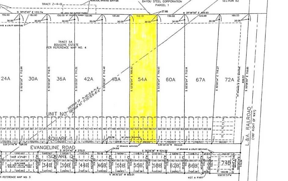 Land for Active at 971 EVANGELINE Road Montz, Louisiana 70068 United States