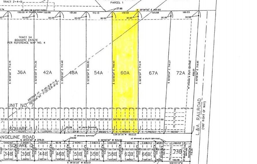 Land for Active at 977 EVANGELINE Road Montz, Louisiana 70068 United States