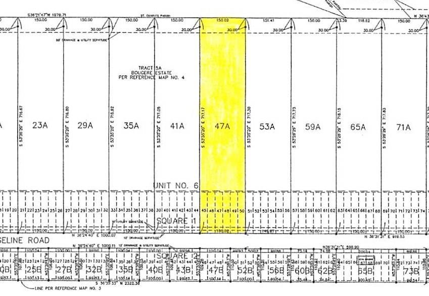 Land for Active at 867 EVANGELINE Road Montz, Louisiana 70068 United States