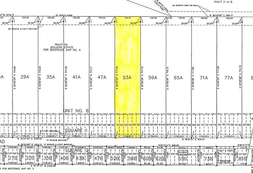 Land for Active at 873 EVANGELINE Road Montz, Louisiana 70068 United States