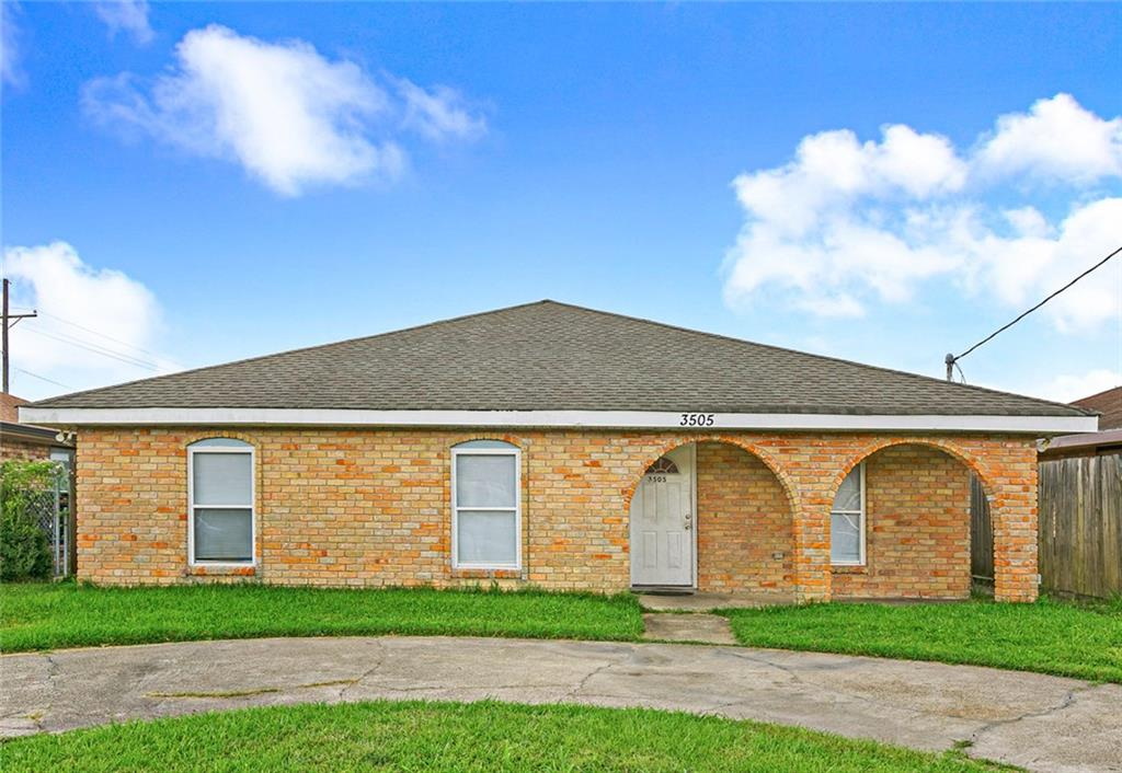 Residential for Active at 3505 ANGELIQUE Drive Violet, Louisiana 70092 United States