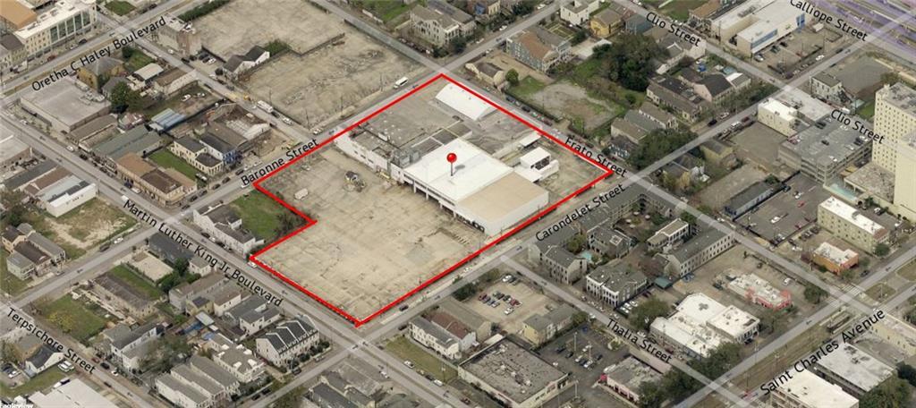 土地,用地 为 销售 在 1404 BARONNE Street 新奥尔良, 路易斯安那州 70113 美国