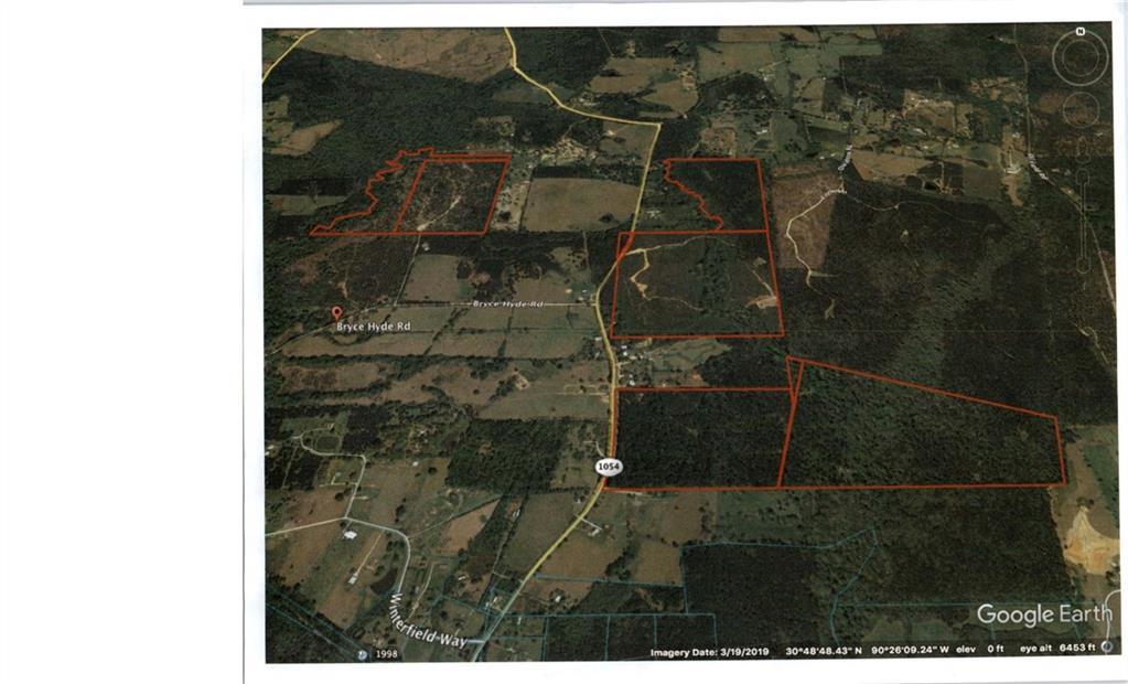 土地,用地 为 销售 在 HWY 1054 Highway Kentwood, 路易斯安那州 70444 美国