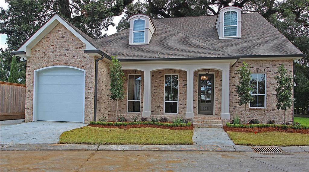 Residential for Active at 105 CUTRERA Lane Harahan, Louisiana 70123 United States