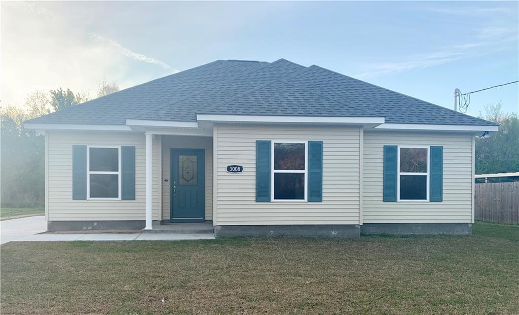 住宅 为 销售 在 3008 MUNSTER Boulevard Meraux, 路易斯安那州 70075 美国