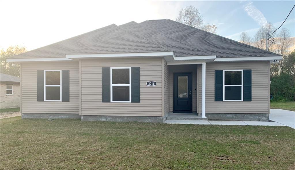 住宅 为 销售 在 3016 MUNSTER Boulevard Meraux, 路易斯安那州 70075 美国