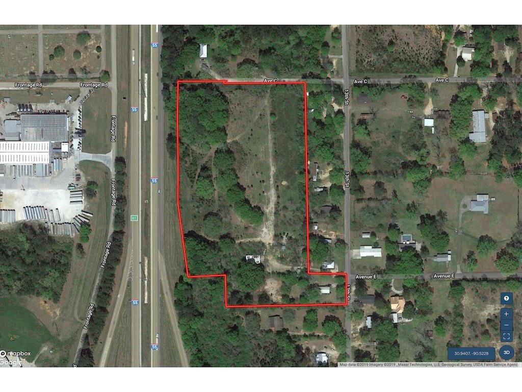 土地,用地 为 销售 在 AVE C Kentwood, 路易斯安那州 70444 美国