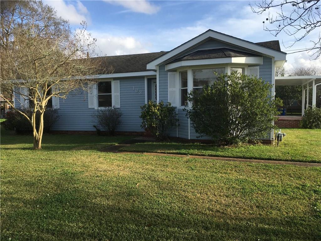 住宅 为 销售 在 183 ST. CHARLES Place Hahnville, 路易斯安那州 70057 美国