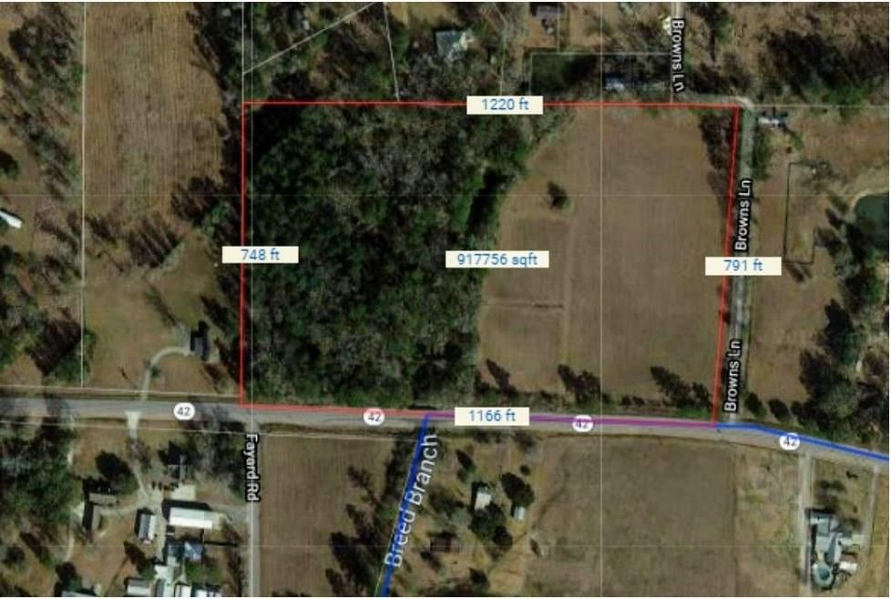 Land for Active at HWY 42 Highway Holden, Louisiana 70744 United States