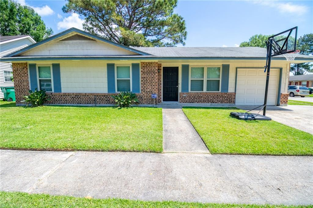 Recently updated all brick home on a corner lot with three bedrooms and two full baths. New flooring in the living area, kitchen and bathrooms. Kitchen features new granite countertops and cabinets. Large fenced in yard with shade trees. Located minutes from shopping & restaurants. Flood zone X.