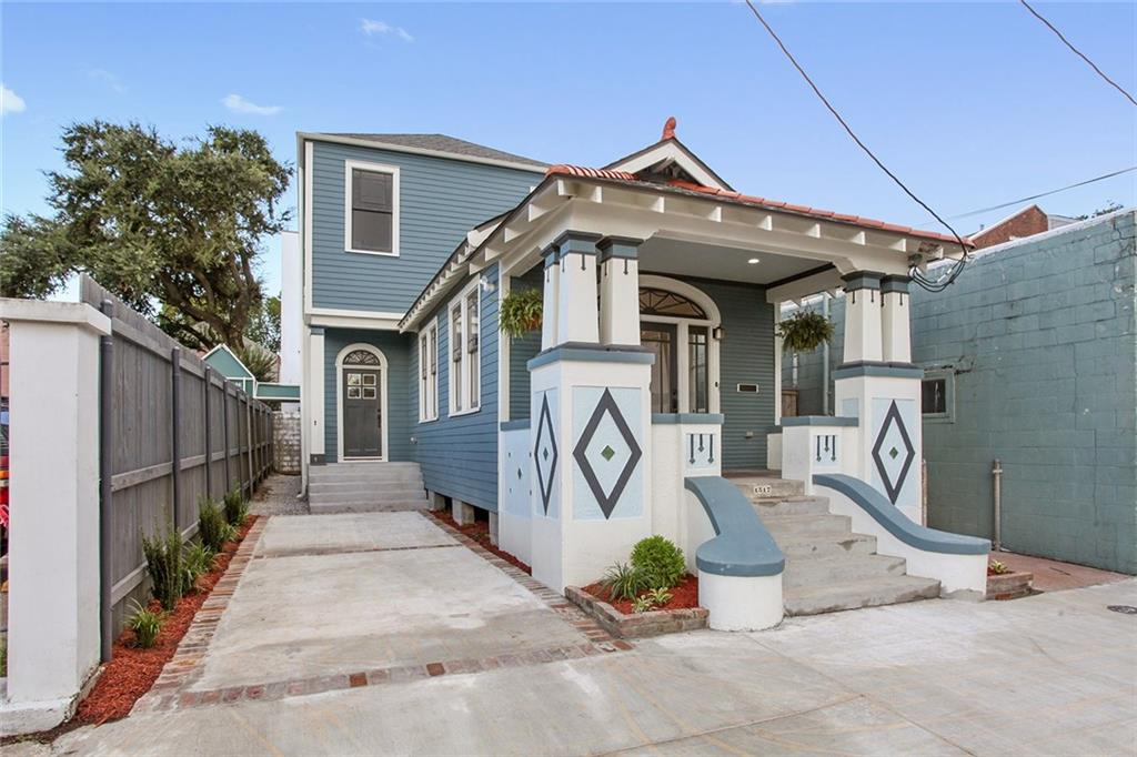 Zoned HU-MU. STR Permit. First Year May 2019 to May 2020 $94,566 Gross Income. $4,808 Utilities, Water, Security and Cable. Lower Garden District Oasis between St Charles and Prytania. St Charles is in arm's length; Coliseum Square Park is a block away. Turn Key home features many of the Craftsman details blended with modern finishes and conveniences. 3 bedrooms, all en suite baths. Large, inviting living/dining room that opens into chef's kitchen. Historic detail, wood floors, salvaged wood refinements.